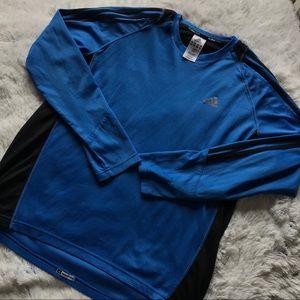 Blue Adidas Longsleeve
